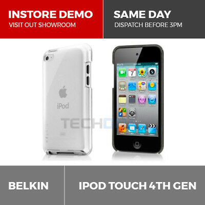 Belkin Shield Micra Clear Cover Case for iPod Touch 4th Gen 4G F8Z646ebC01-APL