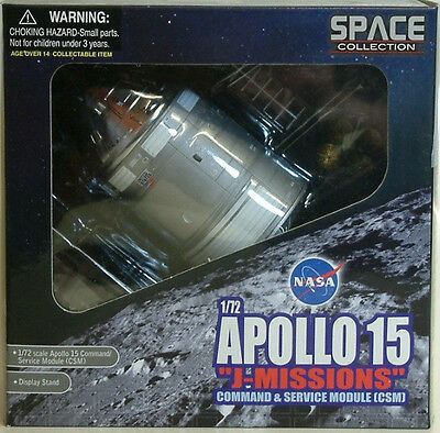 Space : Apollo 15 Command Service Module (Csm) 1/72 Scale Dragon Model