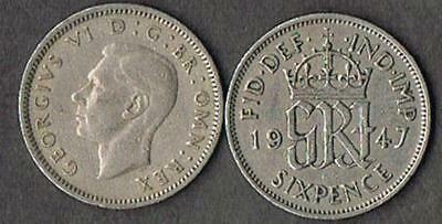 Lot Of 1000 British Wedding Sixpence King George Vi - Blowout Price