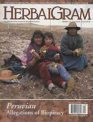 HERBALGRAM - Issue 75 .......... NEW