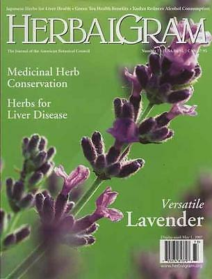 HERBALGRAM - Issue 73 .......... NEW