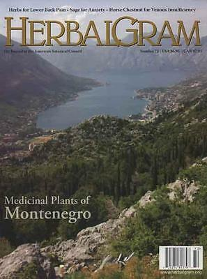 HERBALGRAM - Issue 72 .......... NEW