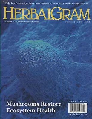 HERBALGRAM - Issue 76 .......... NEW