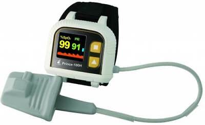 Heal Force Prince 100H Wrist Watch Pulse Oximeter Data Storage Rate Monitor