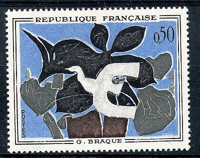 Stamp / Timbre France Neuf  N° 1319 ** Tableaux Braque