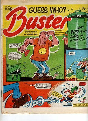 Uk Comic - Buster  - 3 Aug 1985