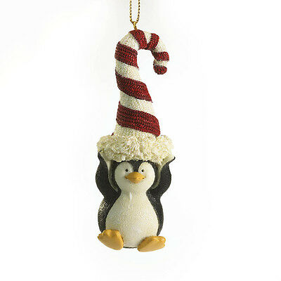 Boyds Bears Candyland Penguin Hanging Ornament ~ Paddy Peppermint ~ 4028442