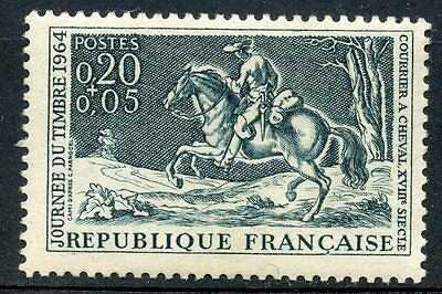 Stamp / Timbre France Neuf Luxe °° N° 1406 ** Journee Du Timbre 1964