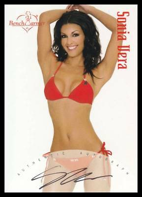 2004 BENCHWARMER SONIA VERA AUTHENTIC AUTOGRAPH TRADING CARD #17 of 20