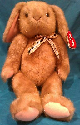 TY CLASSIC PLUSH - BIG BEANIE BUNNY - EXTRA RARE!! - STYLE #8011 - MWMT