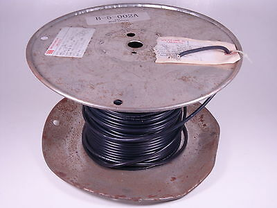E80256 Hook Up Wire 10AWG Black 184FT 184' NOS