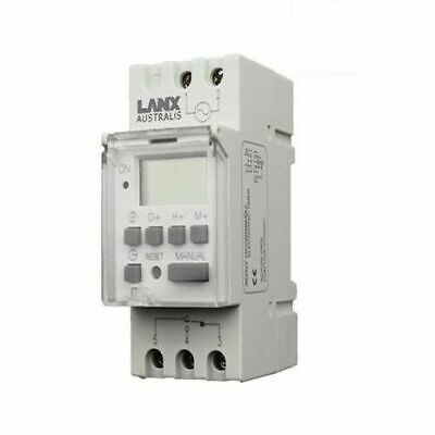 Programmable 16A - 20A Switchboard Digital LCD Electrical Timer 24 Hour 7 Day Hr