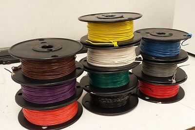 UL1007 22 awg 300 Volt hook up wire - 22 gauge - 1000 ft. Any Color!