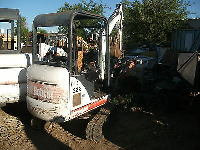 Bobcat 322 Excavator Nice Machine Located In Phx!!!!!!!!!