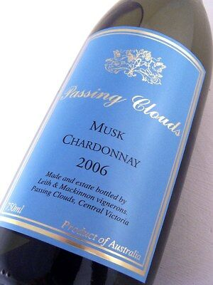 2006 PASSING CLOUDS MUSK Chardonnay Isle of Wine
