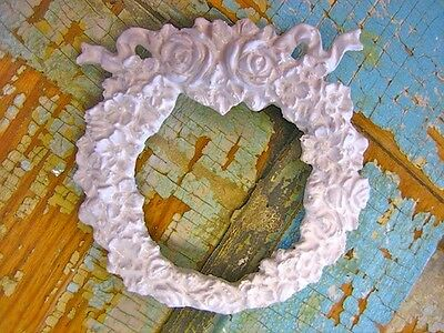 Shabby & Chic Roses Wreaths ( 2) * Furniture Appliques