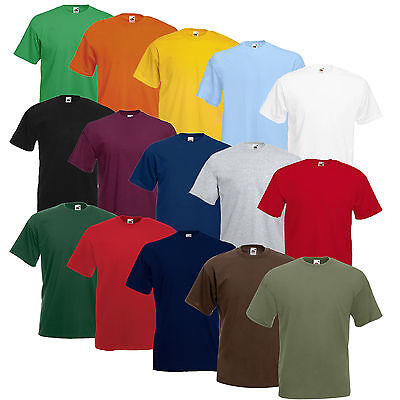 5er/10er FRUIT OF THE LOOM T SHIRTS SETS S M L XL XXL XXXL 3XL 4XL 5XL NEU SHIRT