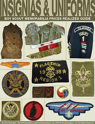 Boy Scout Prices Realized Guide Insignias & Uniform (Rank, Position, Explorers!)