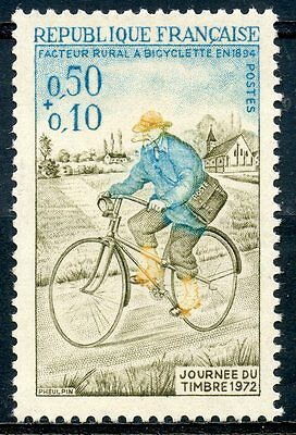 Stamp / Timbre France Neuf Luxe N° 1710 ** Journee Du Timbre Facteur Rural
