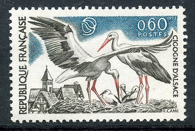 Stamp / Timbre France Neuf Luxe N°  1755 ** Faune / Cigognes D'alsace