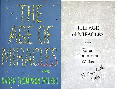 Karen Thompson Walker~SIGNED~The Age of Miracles~1st/1st HC+Photos!!