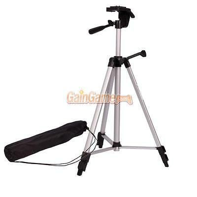 "53"" Practical Light Weight Aluminum Tripod Mount/Stand for Camera/Camcorder"