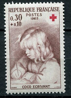 Stamp / Timbre France Neuf Luxe ** N° 1467 ** Croix Rouge / Renoir