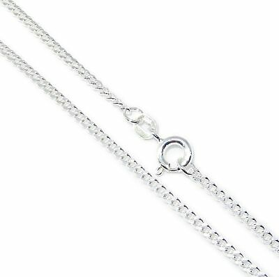 18 Inch Figaro sterling silver chain necklace .925 x1 Chains Necklaces IDBN00218