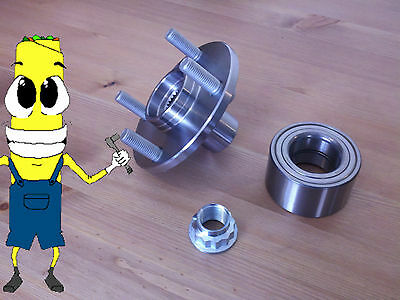 Toyota Echo Front Wheel Hub And Bearing Kit Assembly 2000-2005
