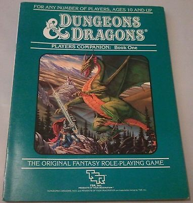 dungeons & dragons      players companion      book  one