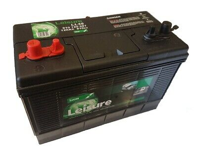 12V 120AH Lucas LX35MF HD Ultra Deep Cycle Battery Leisure Caravan Marine Boat