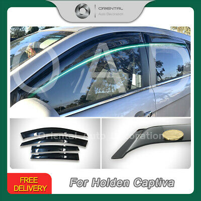 Premium Weather shields Window Visor Weathershields for Holden Captiva 06-19