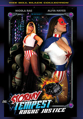 STORMY TEMPEST: ROGUE JUSTICE starring NICOLA RAE AC COMICS LIVE ACTION DVD
