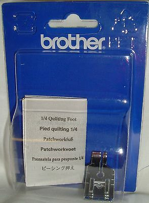 Brother Genuine Sewing Machine-1/4 Quilting / Piecing Foot F001 XC1944052