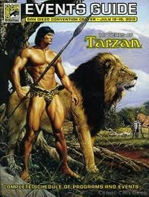 SDCC Comic Con San Diego 2012 Events Guide Schedule Program and Events Tarzan
