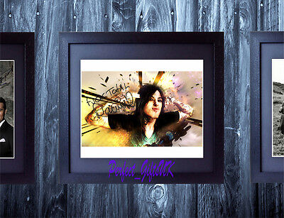 RONNIE Joseph RADKE SIGNED AUTOGRAPHED FRAMED 10X8 REPRO PHOTO PRINT Escape Fate