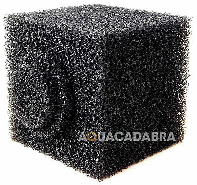 "6"" Cube Pond Filter Foam Pre-Filter Sponge Block 6 Inch Garden Fish 6"" Square"