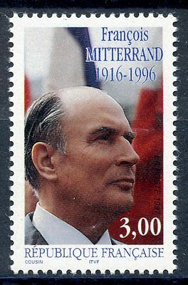 Stamp / Timbre France Neuf N° 3042 ** Francois Mitterand