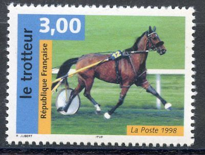 Stamp / Timbre France Neuf N° 3183 ** Faune / Serie Nature /  Chevaux