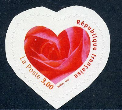 Stamp / Timbre France Neuf N° 3221 ** Saint Valentin /  Je T'aime / Adhesif