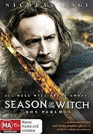 Ex Rental Season Of The Witch Dvd Nicolas Cage Without Sleeve Guaranteed