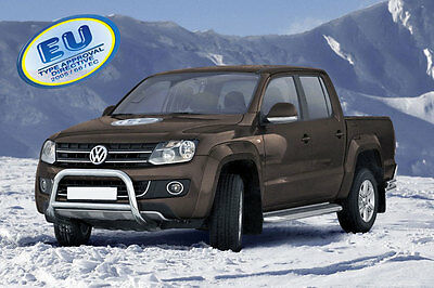 PARE BUFFLE VW AMAROK  2009-2016 HOMOLOGUE INOX Ø 70mm A-Typ
