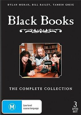 "Black Books - The Complete Collection series 1, 2 & 3 DVD R4 New Sealed ""on sale"