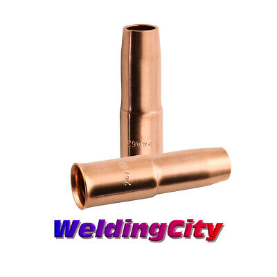 "WeldingCity 2 Nozzles 24A-62-SS 5/8"" for Tweco Lincoln 300-400A MIG Welding Gun"