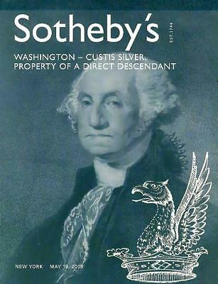 Sotheby's George Washington Silver Collection Auction Catalog '2005'