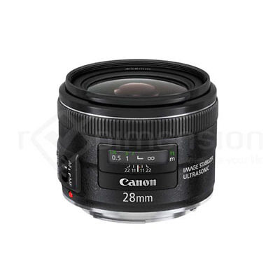 Canon EF 28mm f2.8 IS USM f/2.8 +5Years Warranty S3395