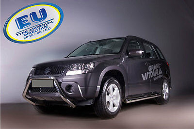 PARE BUFFLE SUZUKI GRAND VITARA  HOMOLOGUE INOX Ø 60mm U - TYPE