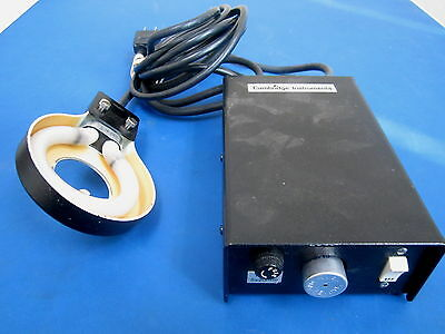 Bausch & Lomb Model313617 With Ring Light 120V 10Watts 60Hz 0.15Amps