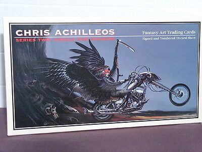 Chris Achilleos Signed and Numbered Science Fiction/Fantasy Art Trading Cards