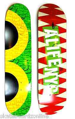 Girl Skateboard Deck Alife New York City Collaboration 7.5 Free Grizzly Grip